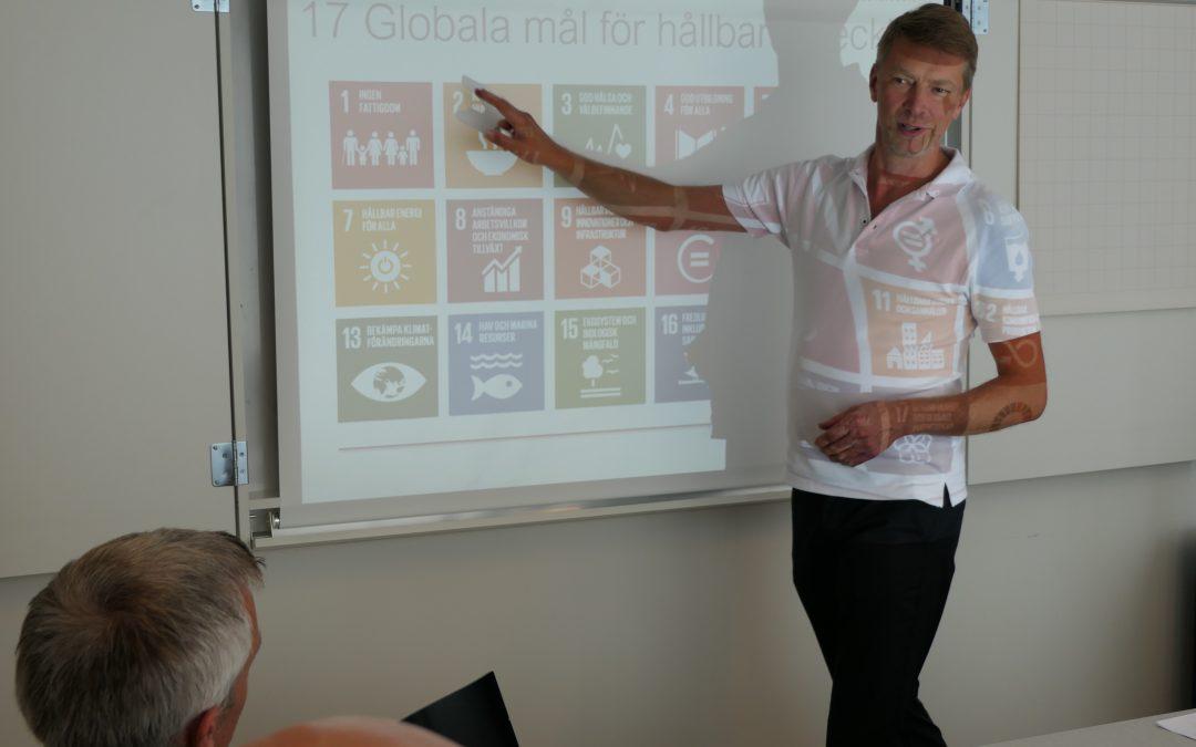 Fokus hållbarhetsfrågor på WOG